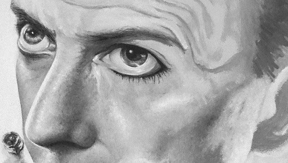 David Bowie Painting: The Process